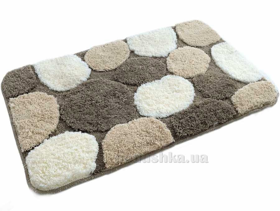 Набор ковриков в ванную Irya Gravel кофейный