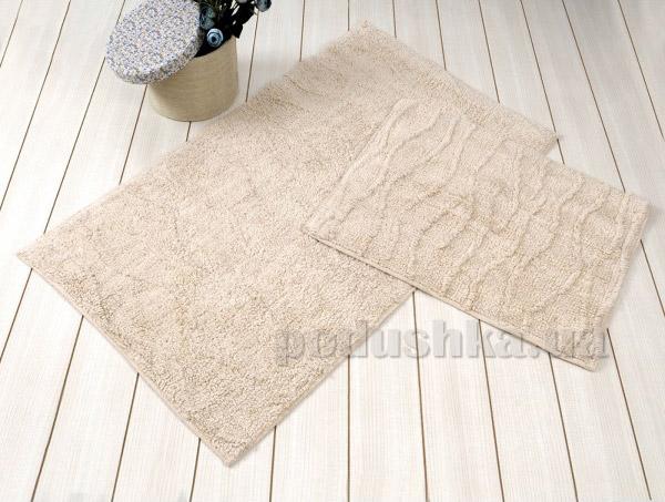 Набор ковриков в ванную Irya Jasmine бежевый