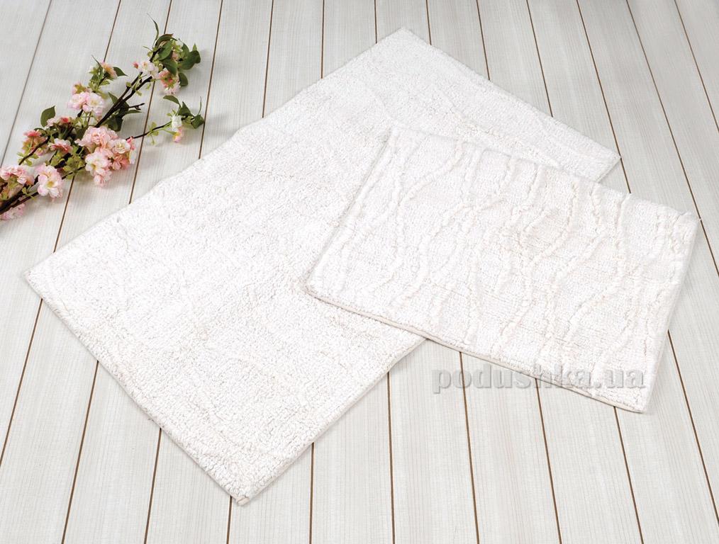 Набор ковриков в ванную Irya Jasmine кремовый