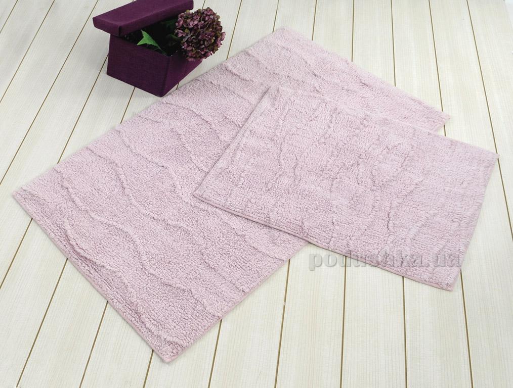 Набор ковриков в ванную Irya Jasmine лиловый