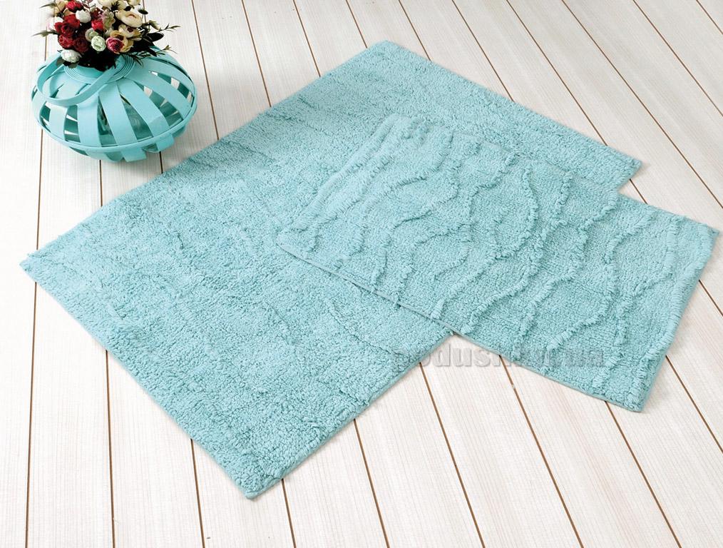 Набор ковриков в ванную Irya Jasmine ментоловый
