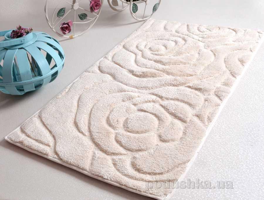 Набор ковриков в ванную Irya Pretty кремовый