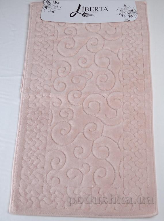 Набор ковриков в ванную Liberta Hazal розовый
