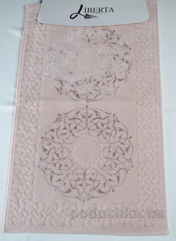 Набор ковриков в ванную Liberta Osmanli розовый