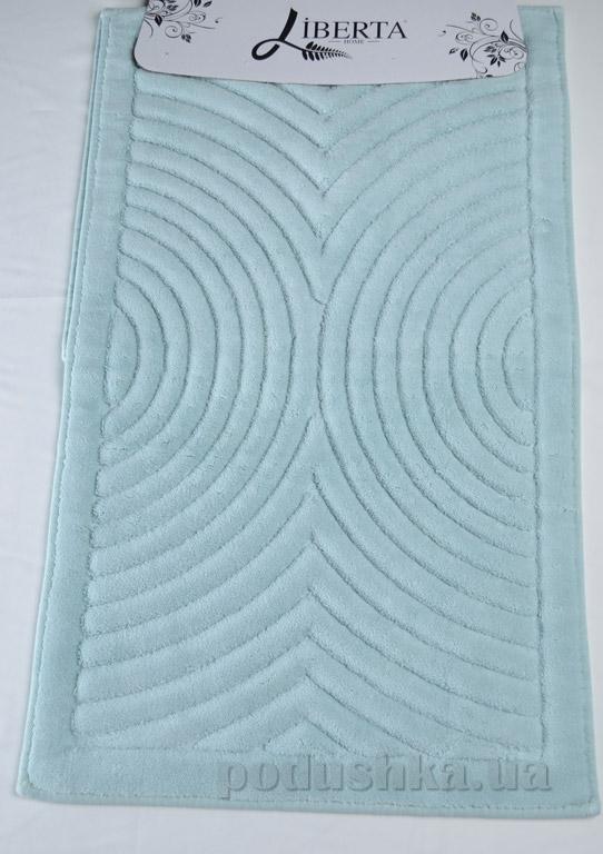 Набор ковриков в ванную Liberta Rounds бирюзовый