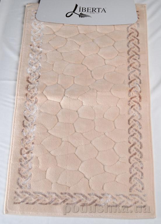 Набор ковриков в ванную Liberta Stones капучино