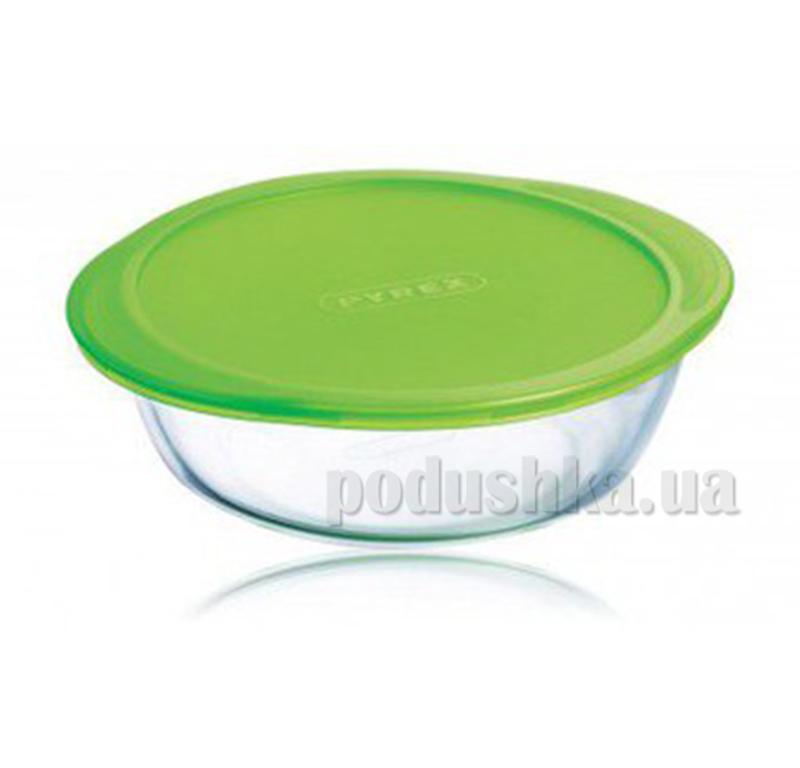 Набор круглых форм с крышечками Pyrex Cook & Store MWY2573/2