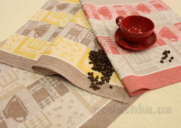 Набор кухонных полотенец Белорусский лен 13С295-ШР/С.КОР 116.1