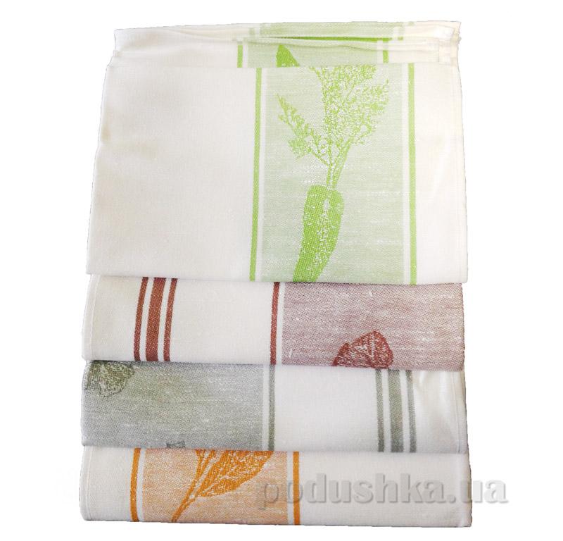 Набор кухонных полотенец Белорусский лен Овощной микс 12с436