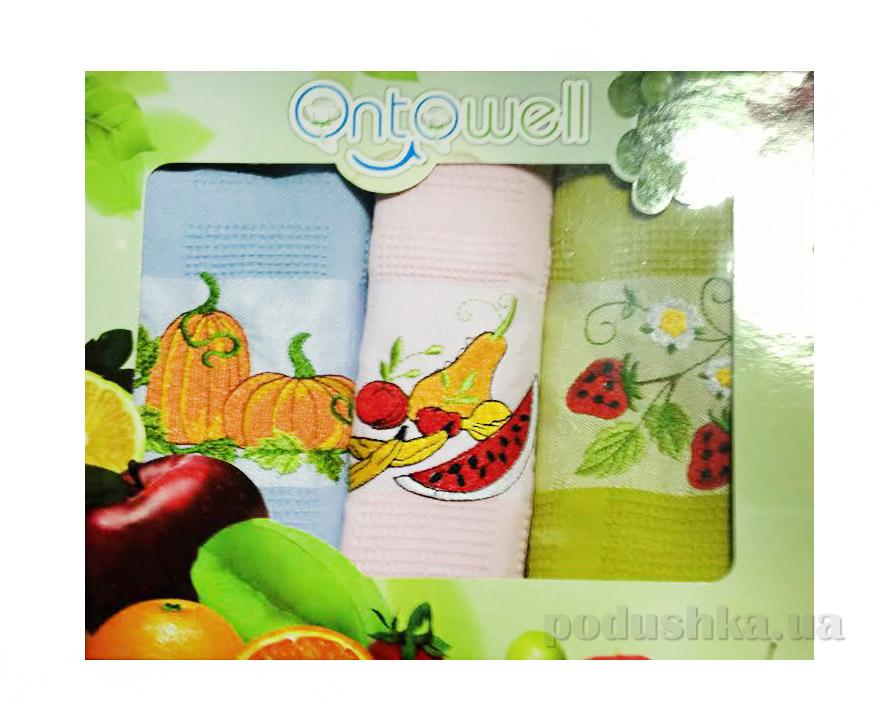 Набор кухонных полотенец Фрукты и овощи Ontowell