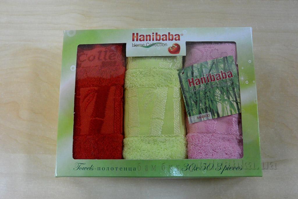 Набор кухонных полотенец Hanibaba Exclusive bamboo odnotonny салатовый