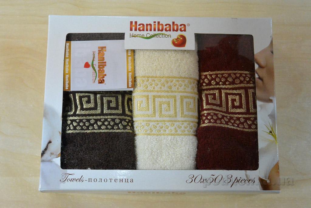 Набор кухонных полотенец Hanibaba Grec крем