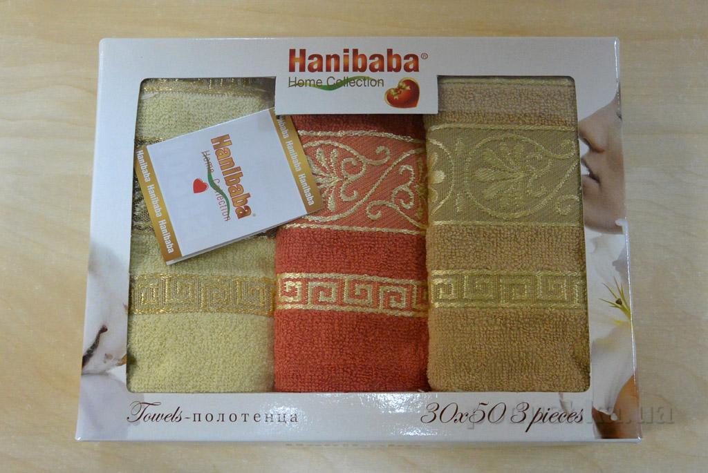 Набор кухонных полотенец Hanibaba Motif кирпичный