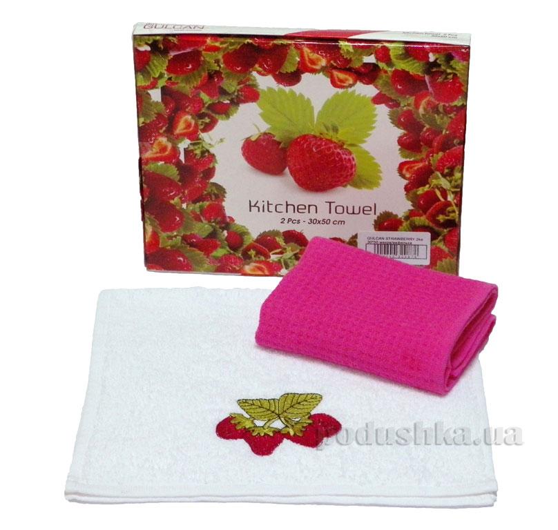 Набор кухонных полотенец Izzihome Gulcan Strawberry