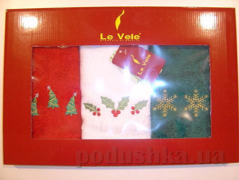 Набор кухонных полотенец Le Vele №4 30х50 см - 3 шт Le Vele