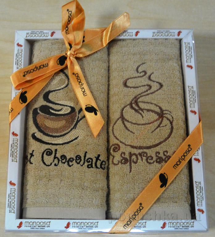 Набор кухонных полотенец Mariposa 008 Горячий шоколад