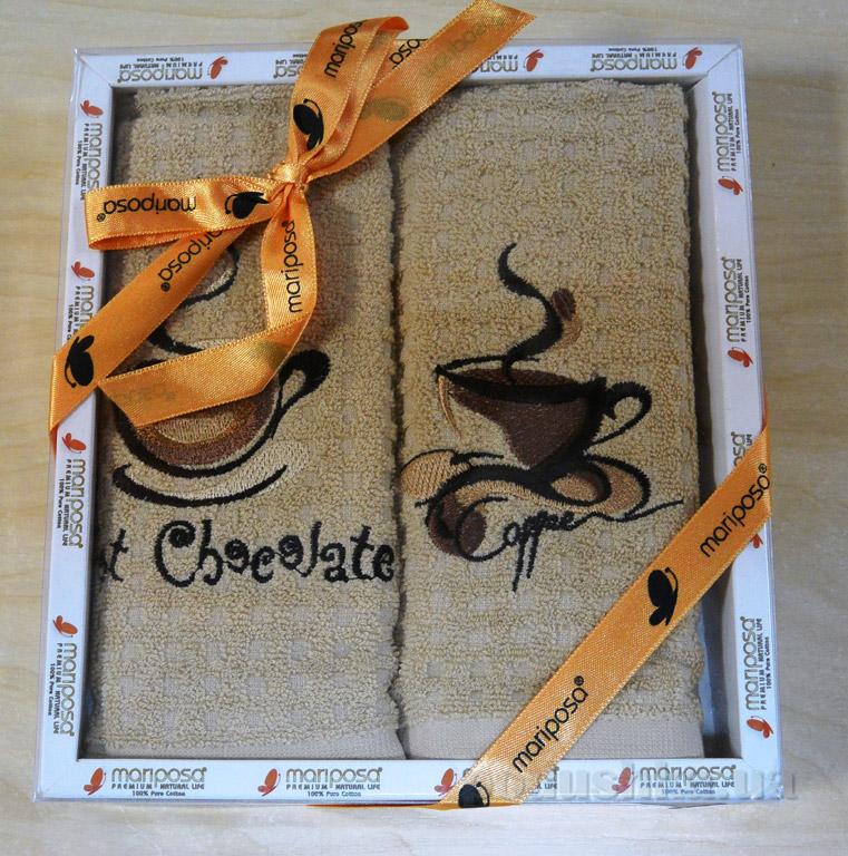 Набор кухонных полотенец Mariposa 008 Кофе