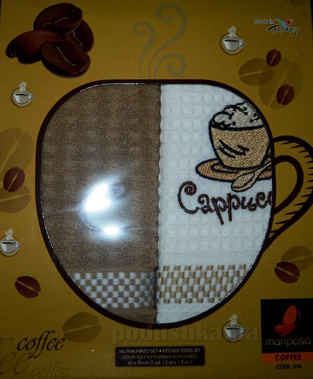 Набор кухонных полотенец Mariposa 016 Кофе