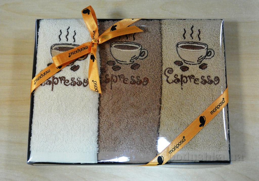 Набор кухонных полотенец Mariposa 022 Эспрессо
