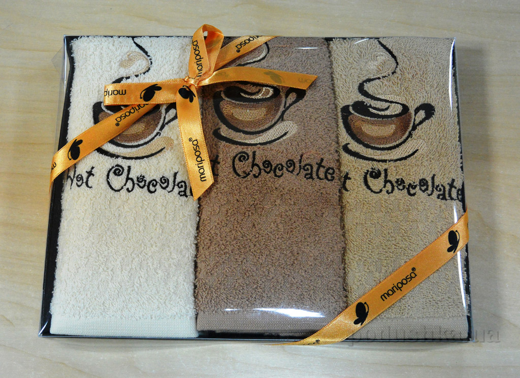 Набор кухонных полотенец Mariposa 022 Горячий шоколад
