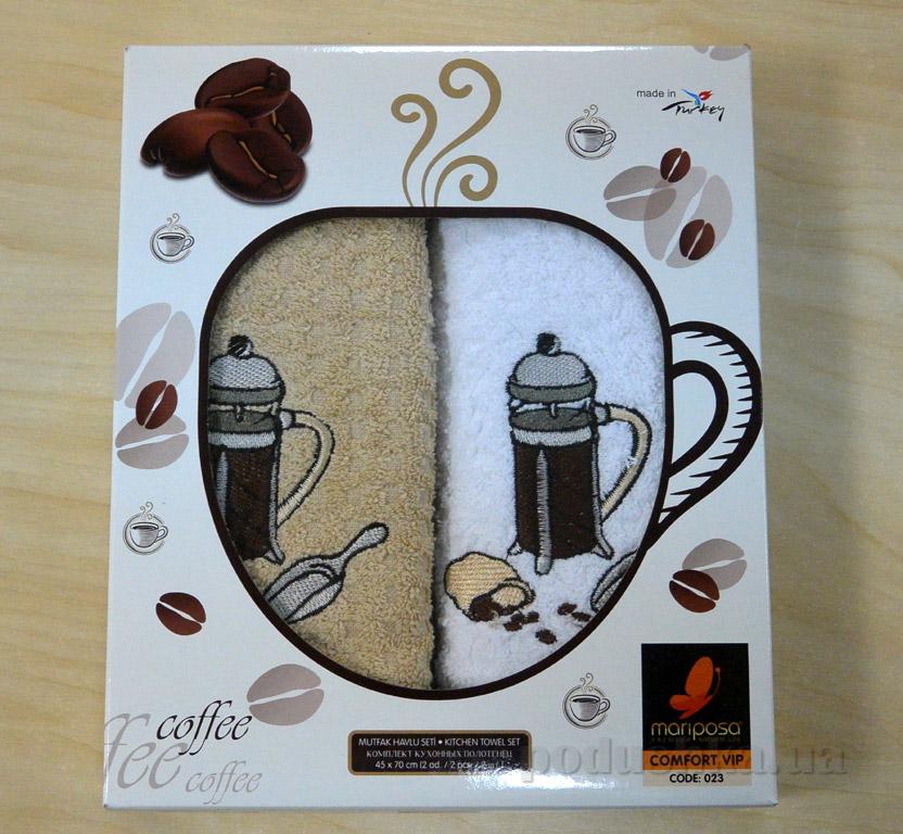 Набор кухонных полотенец Mariposa 023 Кофеварка