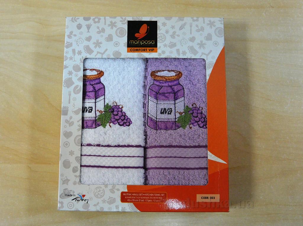 Набор кухонных полотенец Mariposa 023 Виноград