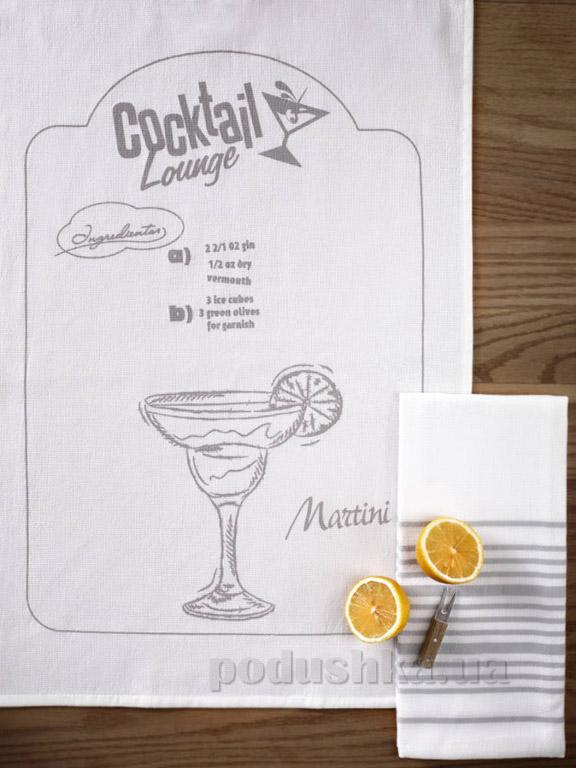 Набор кухонных полотенец Pavia Cocktail lounge Martini