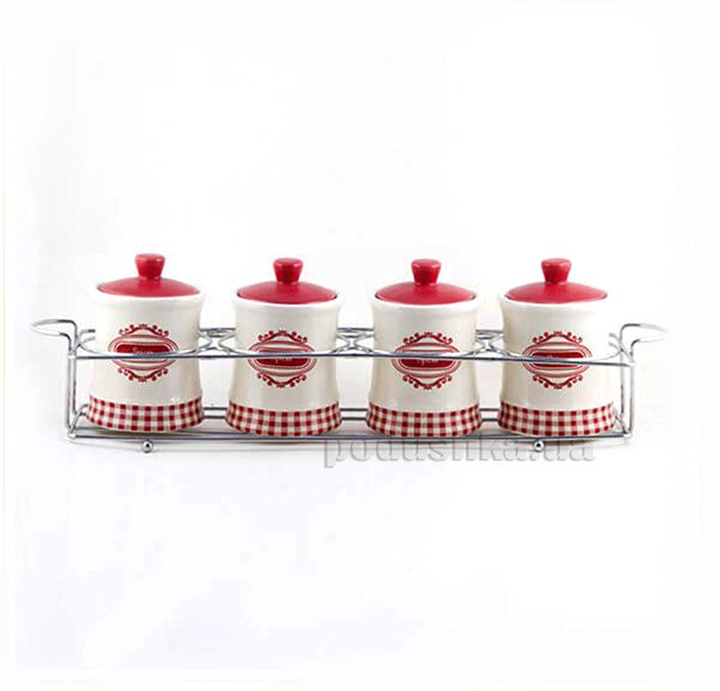Набор кухоный для специй MAESTRO MR. 20028-4CS