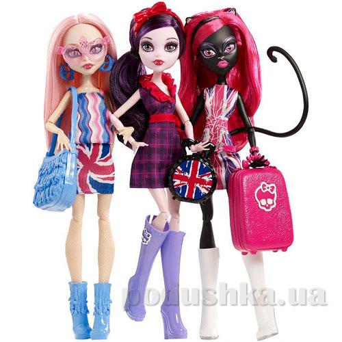 Набор кукол Monster High Монстровые звезды в Лондуме CGF51