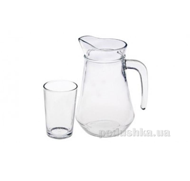 Набор: кувшин и 6 стаканов Kig