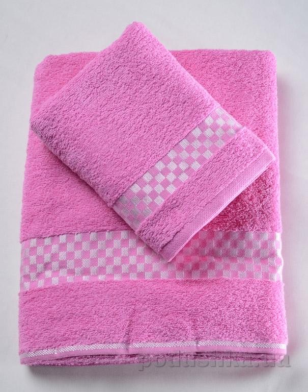 Набор махровых полотенец Altin papatya розовый
