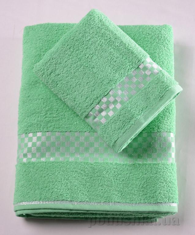 Набор махровых полотенец Altin papatya зелёный