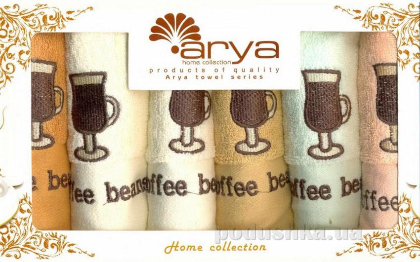 Набор махровых полотенец Arya Beans