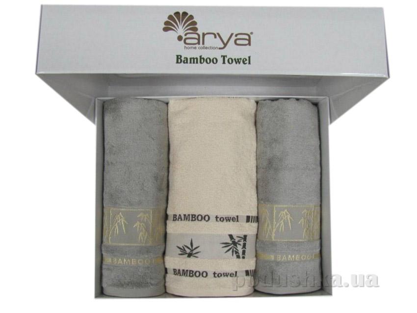 Набор махровых полотенец Arya Bonita 3 шт