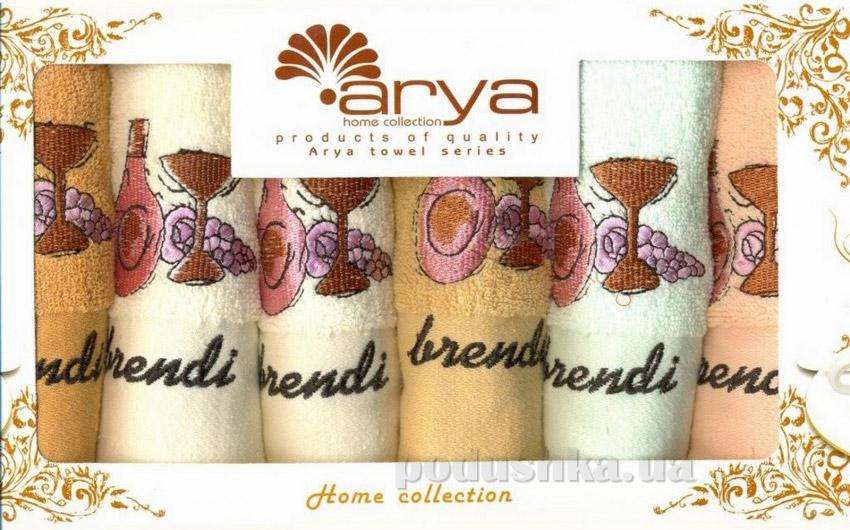 Набор махровых полотенец Arya Brandy