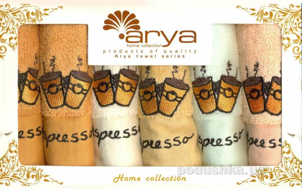Набор махровых полотенец Arya Espreso