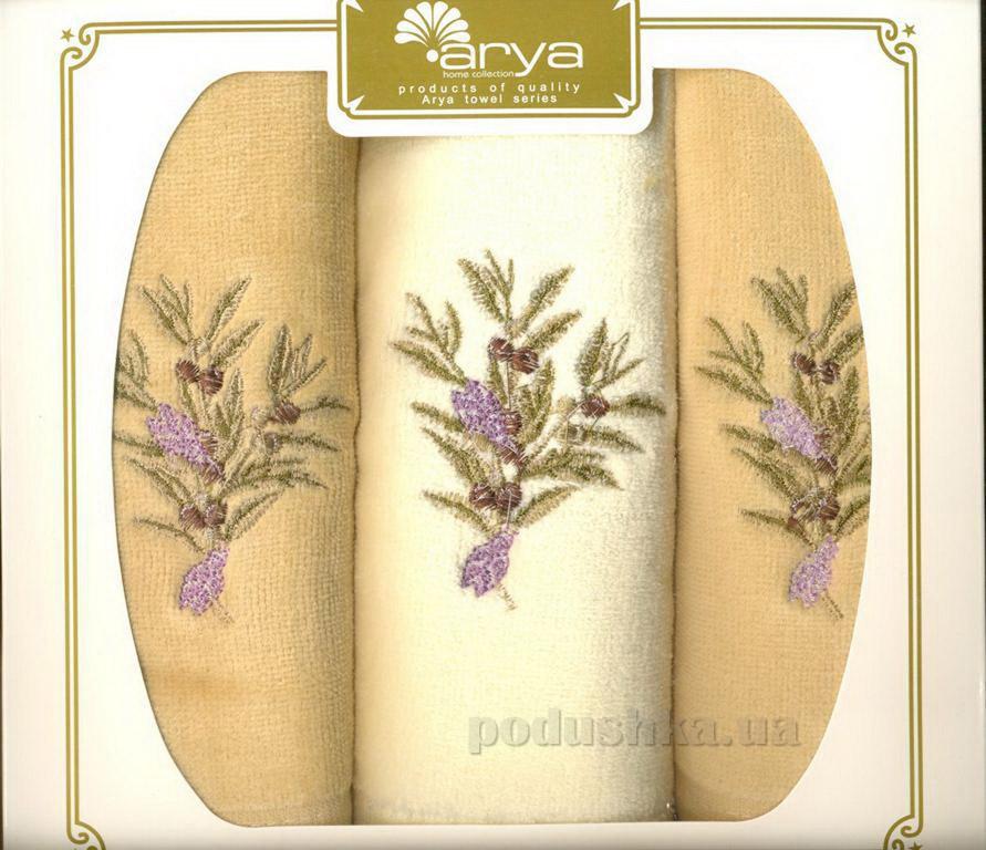 Набор махровых полотенец Arya Garbera 3 шт