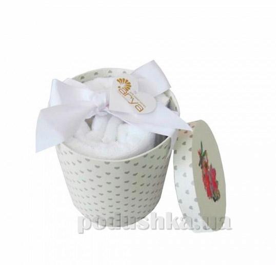 Набор махровых полотенец Arya Markey белый