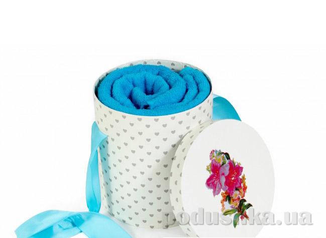 Набор махровых полотенец Arya Markey голубой