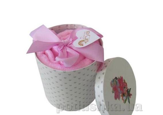 Набор махровых полотенец Arya Markey розовый