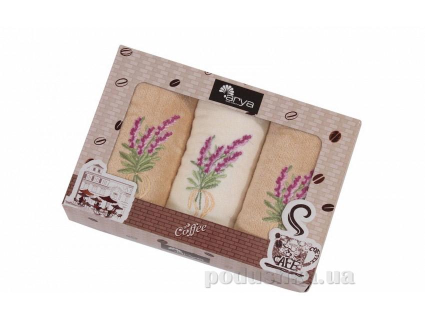 Набор махровых полотенец Arya Mimosa 3 шт