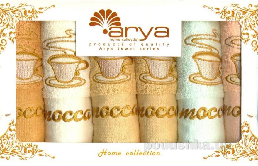 Набор махровых полотенец Arya Mocca