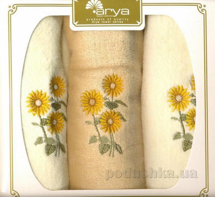 Набор махровых полотенец Arya Seeds 3 шт