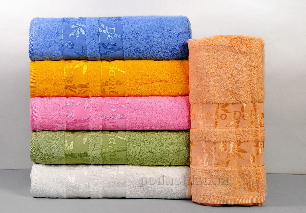 Набор махровых полотенец Hanibaba Bamboo Deluxe