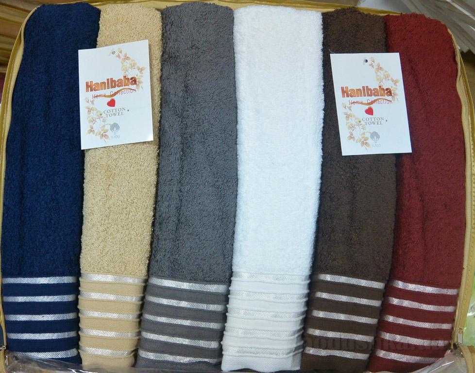 Набор махровых полотенец Hanibaba Fatilli