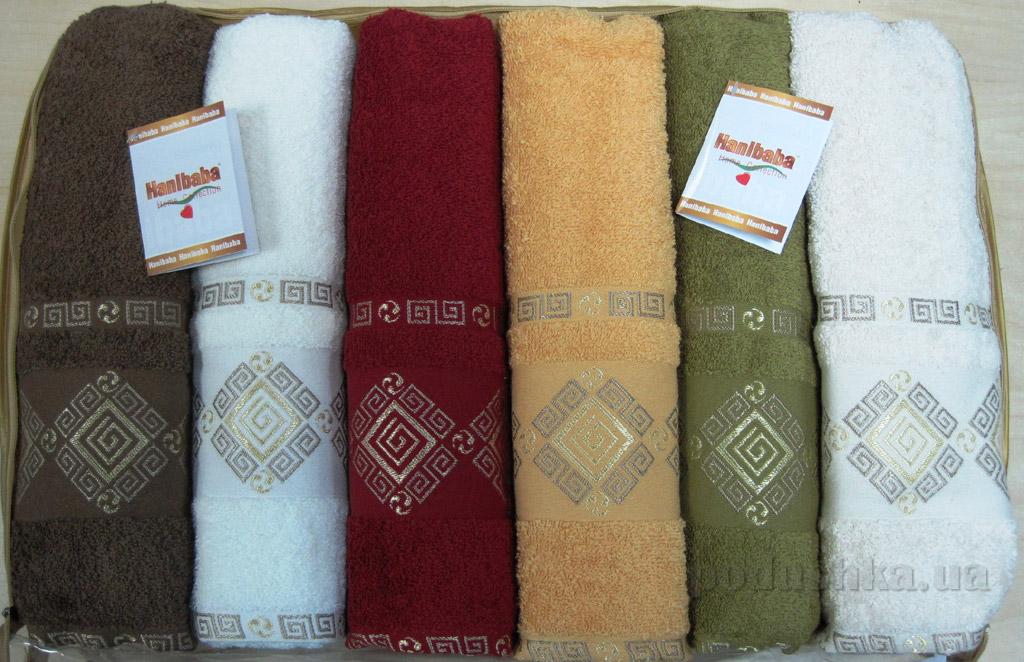 Набор махровых полотенец Hanibaba Pramit