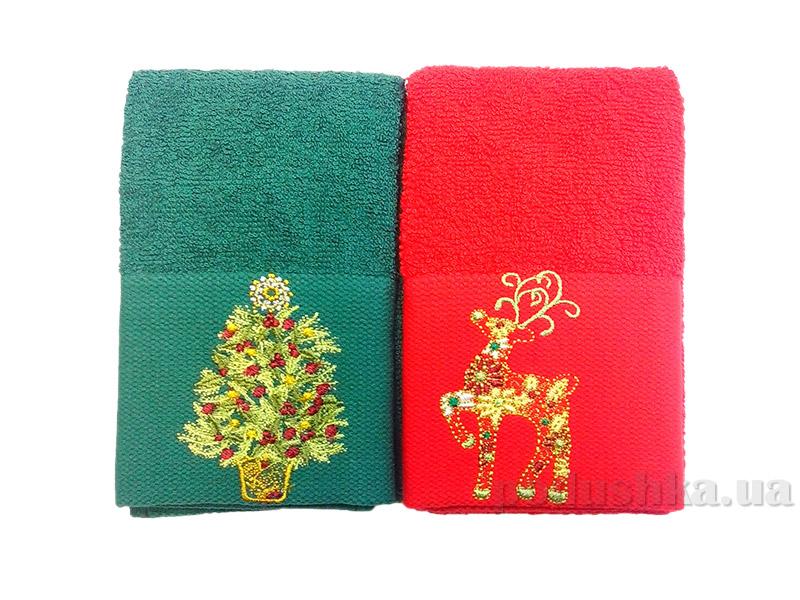 Набор махровых полотенец Hobby Новый год-1