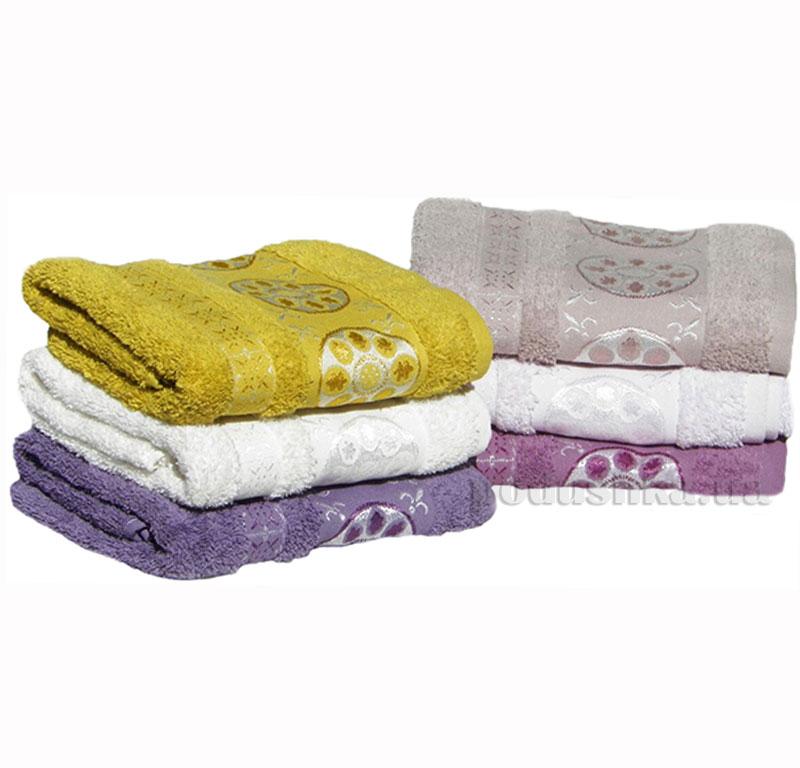 Набор махровых полотенец Izzihome Erotes-2