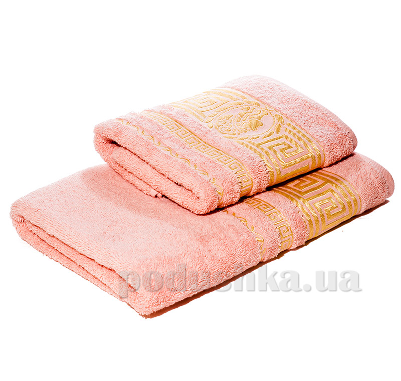 Набор махровых полотенец Izzihome P.Cleopatra пудровый