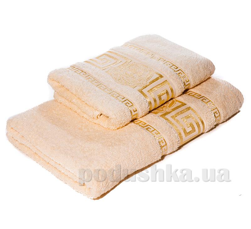 Набор махровых полотенец Izzihome Y. Meander кремовый